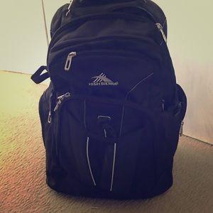 Handbags - High Sierra rolling bag. Huge!